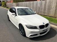2009 BMW 320D MSPORT AUTO ALPINE WHITE IDRIVE FULLY LOADED M SPORT 330d 335d 318d 325d 316d 320i 320