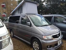 Mazda Bongo 4 berth 6 Seater Mistral Camper (metallic grey) 2003