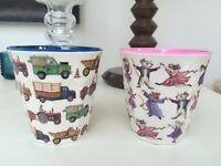 Emma Bridgewater - Melamine (plastic) Children's cups