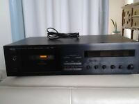 Stereo tape deck