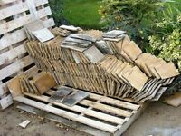 Concrete Roof Tiles - approx 350