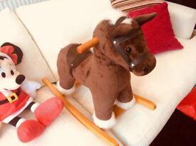 Mamas and Papas Supersoft Rocking Horse Pony