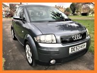 Audi A2 1.6 FSI SE Colour Storm 5dr HPI CLEAR,LONG MOT