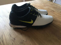Nike Air Max golf shoes size 10 worn once