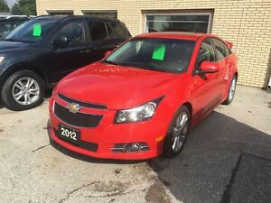 2012 Chevrolet Cruze LT Turbo+ w/1SB London Ontario image 9