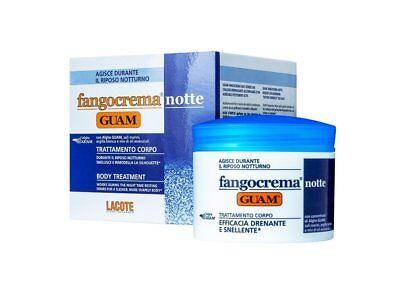 FANGO D'ALGA GUAM FANGOCREMA NOTTE TRATTAMENTO SNELLENTE 500 ml OFFERTA!!!