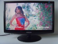 "Samsung SyncMaster 22"" Full HD 1080p Gloss LCD PC Computer Monitor"