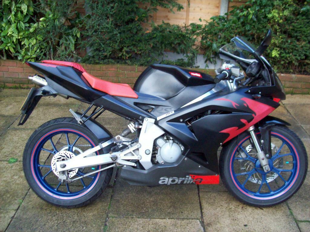 aprilia rs 50 70cc big bore my06 2008 tuned very clean. Black Bedroom Furniture Sets. Home Design Ideas