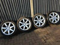 "17"" Mercedes alloy rims"