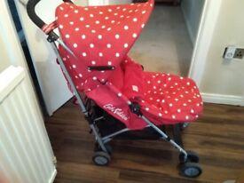 Cath Kidston maclaren pushchair
