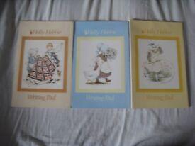 Three Vintage Hollie Hobbie Pads of Printed Writing Paper - £2.00 each
