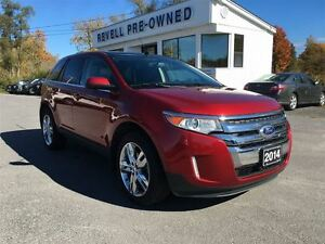 2014 Ford Edge Limited AWD...Ford Credit Lease Return, Moonroof