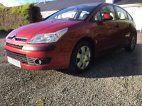 Citroen c4 1.6 sx mot October 2018 great driving car new tyres service and battery cookstown