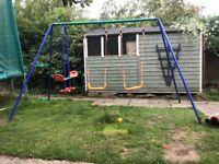 Kids Outdoor Swing Set