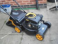 Mculloc lawn mower , fuel powered