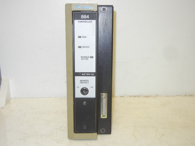 GOULD MODICON AS-884A-201 USED PROGRAMMABLE CONTROLLER AS884A201