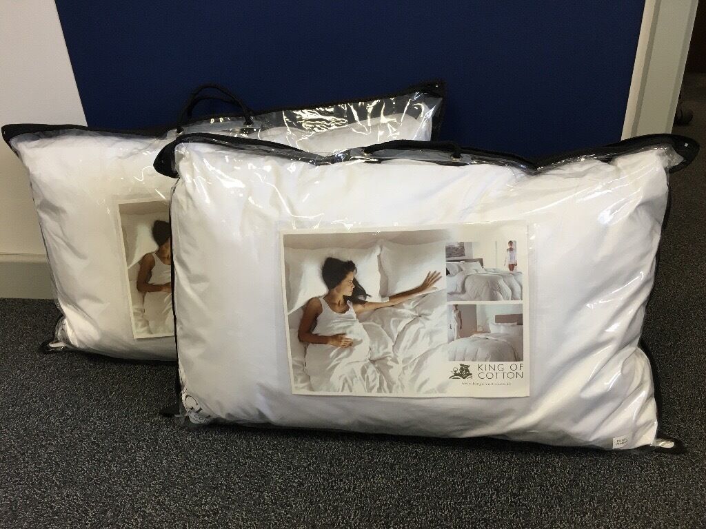 Pillows X 2 King Of Cotton Brand New In Gloucestershire