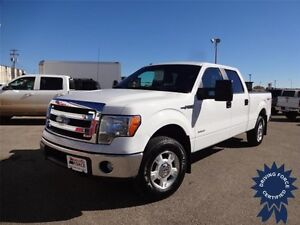 2014 Ford F-150 XLT - Front Tow Hooks, Cruise Control, 122171 KM