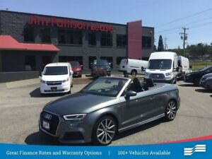 2018 Audi A3 2.0T Technik Cabriolet Showroom Ready