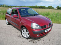 Renault Clio 1.2 16V Dynamique. NOW Only £1250 . Low insurance.