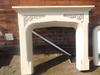 Fire Surround with Matching Mirror