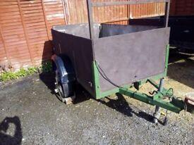 Car trailer towbar