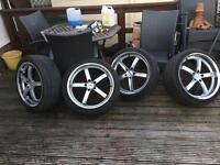 Alloy wheels x4. 5x120