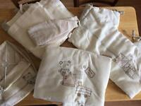 Mamas and Papas cot/cotbed bedding/nursery set.