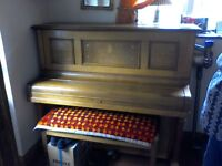 Free to a good home upright piano two keys not working but rest is ok buyer to collect