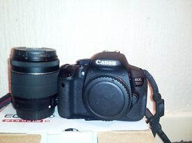 Canon Eos 700D good condition