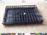 Dog crate as new condition