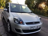 2007 FORD FIESTA STYLE 1.2 PETROL 1 YEAR MOT 45.000 MILES P/X CONSIDERED