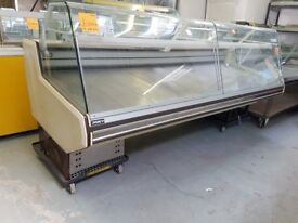 2.5M COMMERCIAL DISPLAY SERVE OVER COUNTER FRIDGE AST169