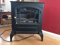 Burley electric fire 124-S