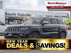 2017 Jeep Grand Cherokee Limited | DUAL SUNROOF | NAVIGATION | L