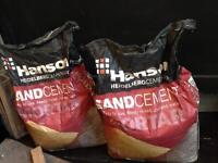 Ready mixed sand cement fiver!
