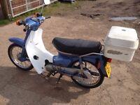 2001 Honda C90 Cub - Ready to Ride Away! MOT'd - Not C50 C70 C100