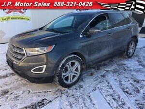2015 Ford Edge Titanium, Automatic, Navigation, Back Up Camera,