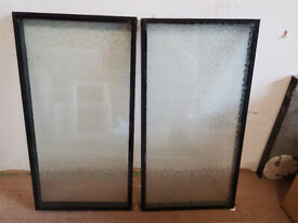 Obscure glass double glazed sealed unit