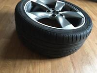 """Genuine 18"""" Inch AUDI A3 S3 RS3 5x112 Rotor Alloy 7.5 Jx18 H2 ET54"""