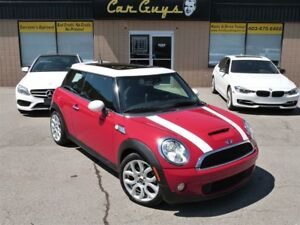 2007 MINI COOPER S Pano, H. Leather, Paddle Shift, Key-Less