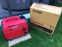 Honda EU20i suitcase inverter generator.