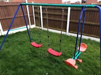 Double swings and seesaw