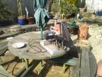 Steel chop saw