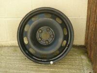 vw golf mk4 steel wheel, 15 inch