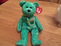 TY Beanie Babies - Killarney The Irish Bear