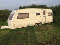 For Sale: 1990 Caravan 5 berth Fleetwood Colchester 18/5 twin axle