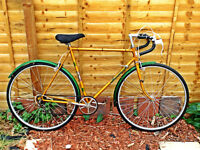 COVENTRY EAGLE GENTS OLD SCHOOL RACING/TOURING BIKE NEW TYRES ETC