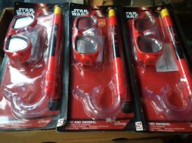 Star Wars snorkel sets