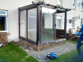 Patio/Conservatory Doors needing a new home